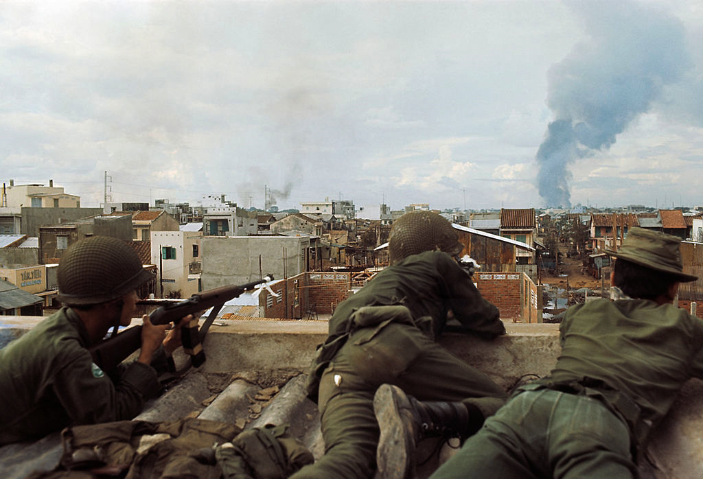 1968 - South Vietnamese soldiers fighting in Saigon | Flickr