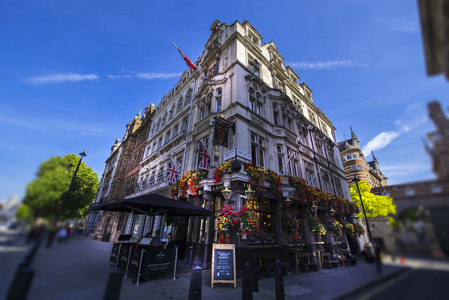 The Red Lion - City of London - England