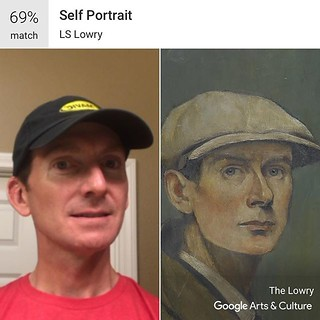 Does this artwork look like me? Try with your own #selfie at g.co/arts/selfie #GoogleArts | by jsf.online