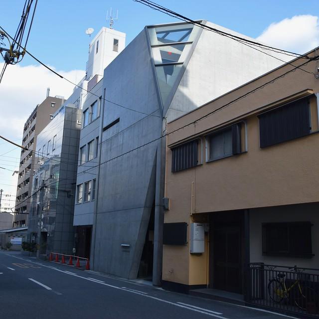 Tadao Ando (安藤忠雄), Kamigata Rakugo Association Hall (上方落語協会会館), Osaka