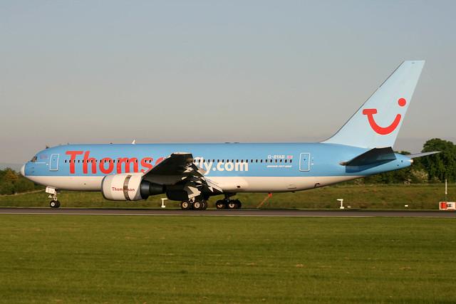 G-BYAB Boeing B.767-204ER Thomson Airways