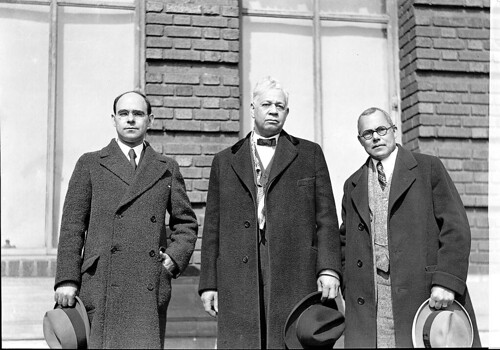 DePriest, Scott and Johnson meet: 1930 ca. | by Washington Area Spark