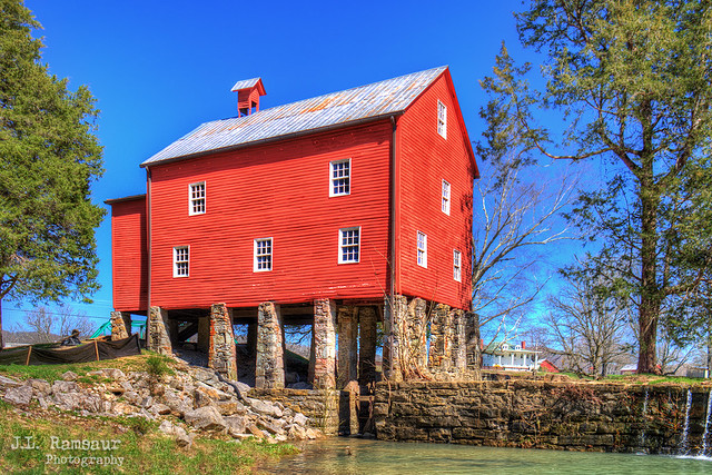 Sgt Alvin C York Grist Mill - Pall Mall, Tennessee