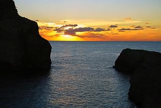 Fabulous Gozo island sunset, Malta