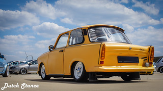 Yellow low Trabant | by Luukdg