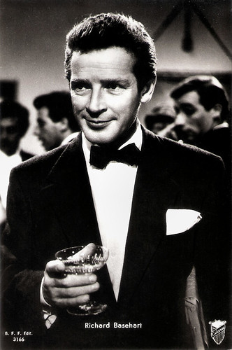 Richard Basehart in Il bidone (1955)
