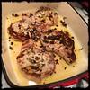 #pork #chops #rosemary #garlic #homemade #CucinaDelloZio - place in pan w/marinade