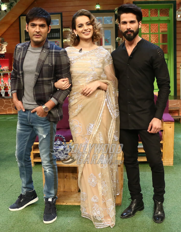 Cast of Rangoon Has a Blast Shooting for The Kapil Sharma … | Flickr
