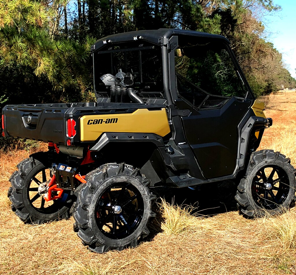 Can Am Defender Xmr Lifted Anti Feixista