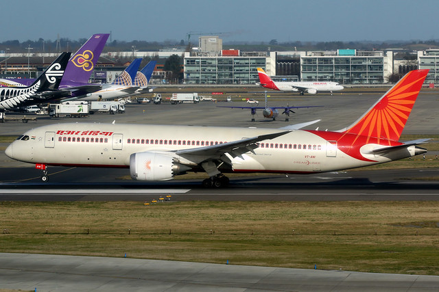 Air India | Boeing 787-8 | VT-ANI | London Heathrow