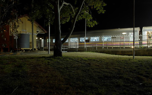 queensland railway station night train qr westlander mitchell