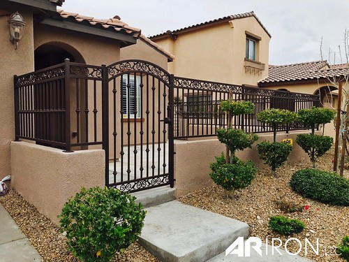 entryway gate fence railing powdercoating lasvegas summerlin greenvalley henderson anthem northlasvegas bouldercity sienna sunrise lakelasvegas