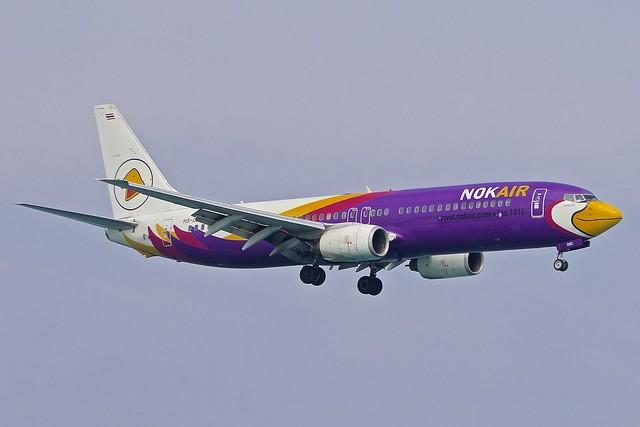 HKT/VTSP: NokAir Boeing B737-85P HS-DBC