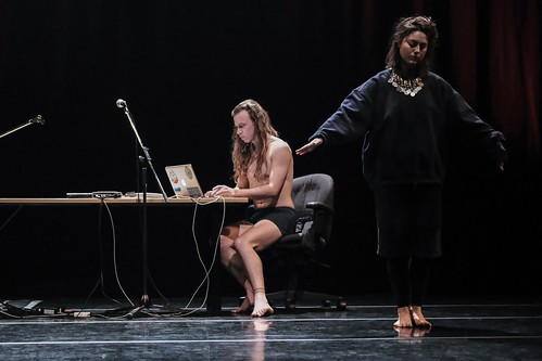 Les Collisions Performatives - Paige Culley + Mich Cota - CCOV | by davidcwong888