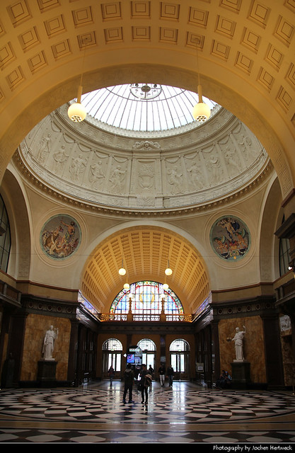 Foyer, Kurhaus, Wiesbaden, Germany