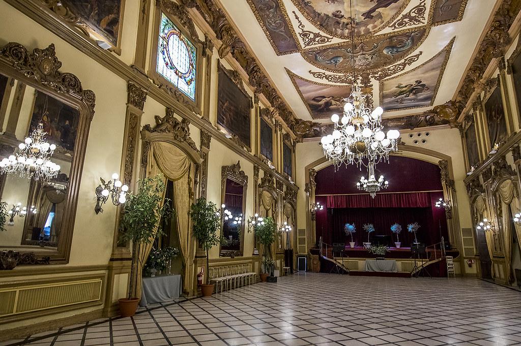 Real Círculo De La Amistad De Córdoba Salón Liceo Flickr