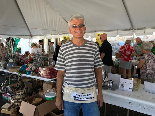 Victor at Yard Sale | by Holy Spirit Orthodox Church