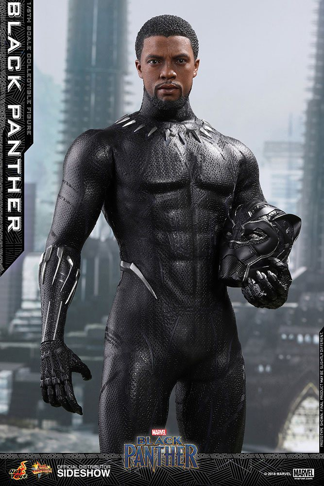 Figura Movie Masterpiece Black Panther Marvel