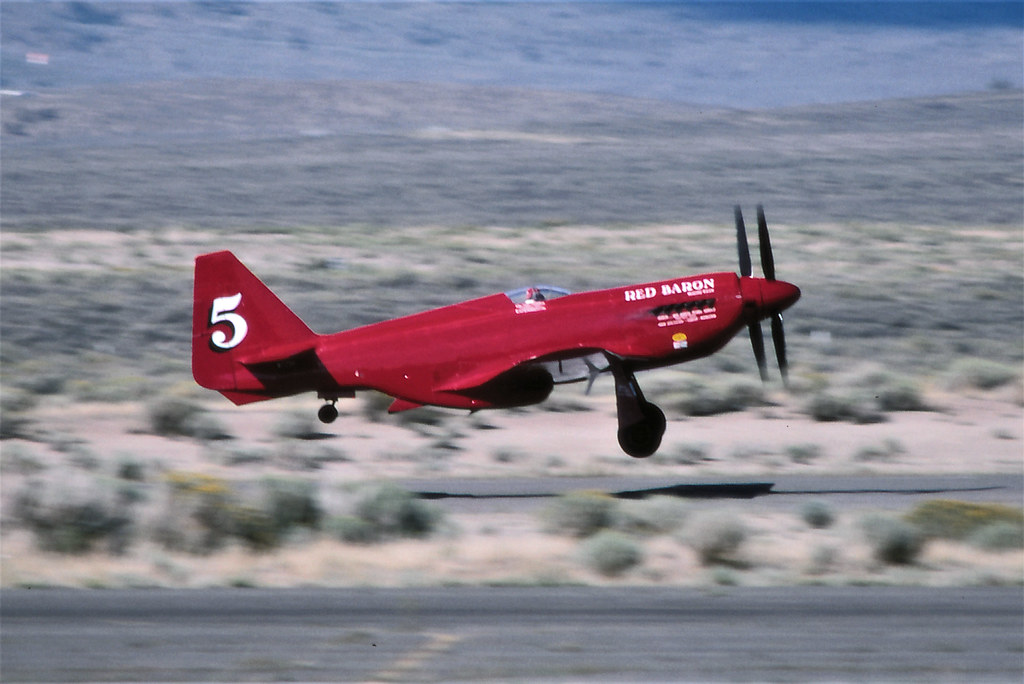 "N.A. P/RB-51 Mustang #5 ""Red Baron"" NL7715C"