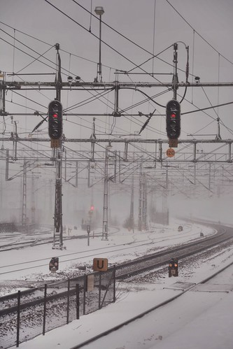 wires, rails and snow | by Mister.Marken