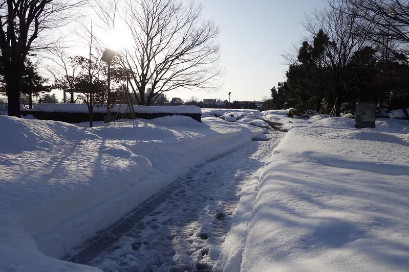 雪の金沢市民芸術村
