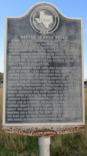 texas tx southtexas nuecescounty aguadulce texashistoricalmarkers northamerica unitedstates us