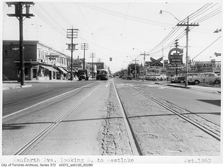 Danforth Avenue, looking east to Westlake Avenue