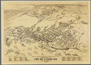 Panoramic view of the city of Vancouver, British Columbia, 1898 / Vue panoramique de la ville de Vancouver (Colombie-Britannique), 1898