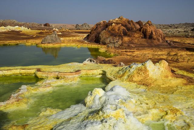 volcan dallol. Danakil. Ethiopia