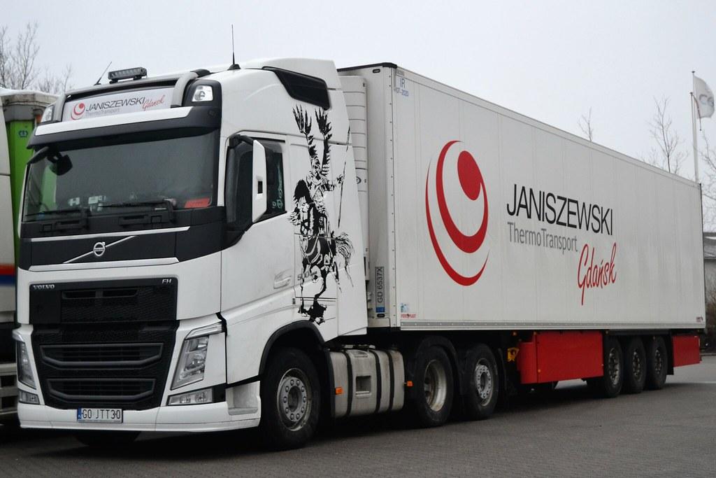Świeże Volvo FH500 - Janiszewski Thermo Transport Gdańsk - PL GO … | Flickr PS46