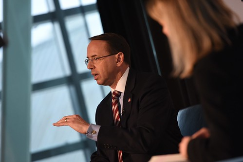 Deputy Attorney General Rod Rosenstein | by Internet Education Foundation