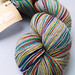 Abi Grasso Self Striping Yak Blend Sock - Hipster Stripe