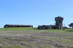 Abandoned Tankhouse and Barn, Denverton