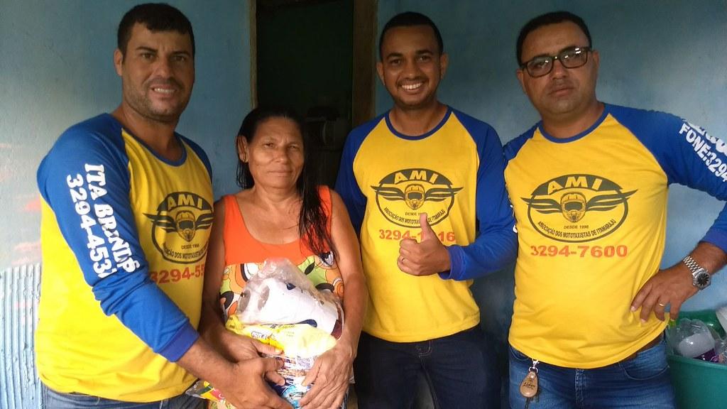 campanha de doação de alimentos dos motaxistas de itamaraju (7)