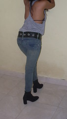 wide jeans belt SDC11306