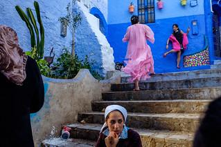 Chefchaouen, Morocco, October 2017