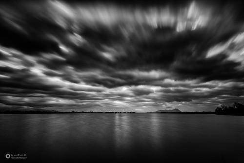 Lago dei Monaci in black e white