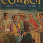 Charles Wesley Sanders - Wandering Cowboy (1944, Collins White Circle Pocket Novel #95, cover art by Margaret Paull)