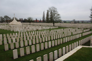 Tyne Cot Commonwealth War Graves Cemetery -  Passendale, Belgium, Friday 29th December 2017 | by ChrisPDay