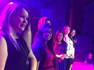 Girls from the YWCA Toronto's Girls' Centre