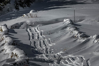 Andorra winter landscape: Canillo, Vall d'Orient, Andorra, Pyrenees