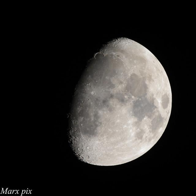 January moon.