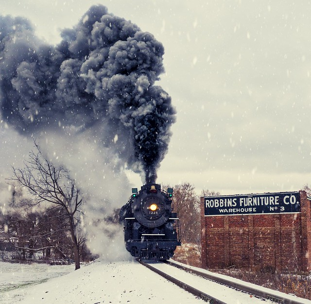 Pere Marquette 1225...The TRUE Polar Express