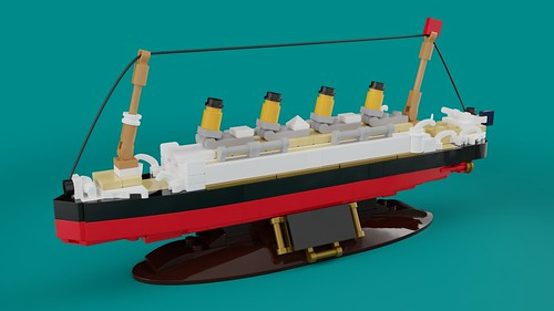 Titanic display model (updated) | by saabfan2013