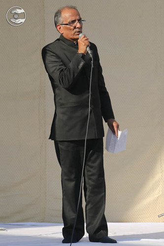 Stage Secretary, Ashok Shauq from Delhi