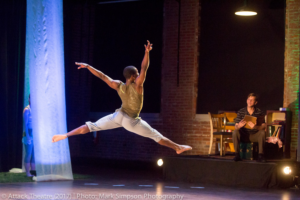 Inspired by the gritty and heartfelt poetry of Jimmy Cvetic, this dance and live music performance takes an unabashed look at the heavy side of life.
