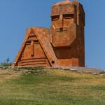 Artsakh memorial - grandmother and grandfather