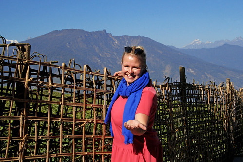 Marlene_welcome_sikkim | by Couchabenteurer