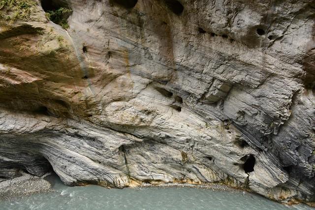 Swallow cave at Taroko gorge (Taroko National Park, Taiwan 2017)