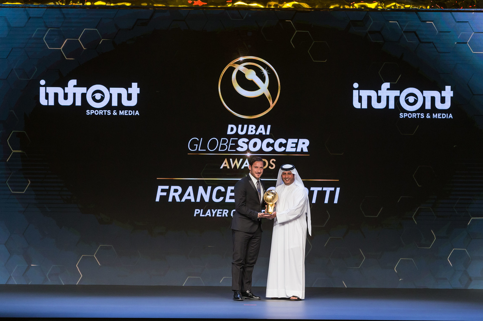 Globe Soccer Awards 0217